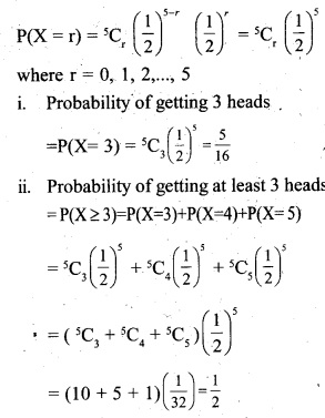Plus Two Maths Chapter Wise Questions and Answers Chapter 13 Probability 15
