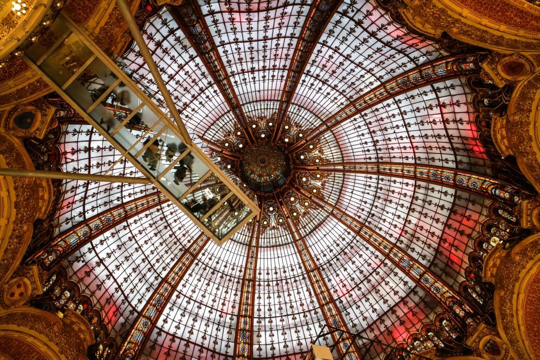 Galeries Lafayette, Parigi