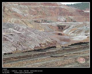Un paseo en el tren Minero. 2003.