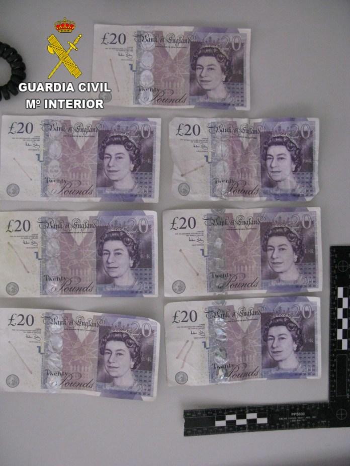 La Guardia Civil detuvo a una persona por un delito de utilización de moneda falsa en Lanzarote