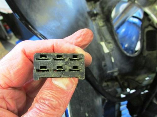 Main Wire Harness Female Plug Detail
