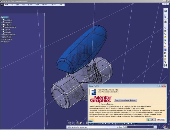 working Mentor Graphics FloEFD 18.0.0 v4459 for catia full
