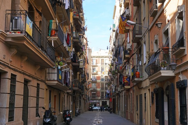 La Barceloneta neighborhood