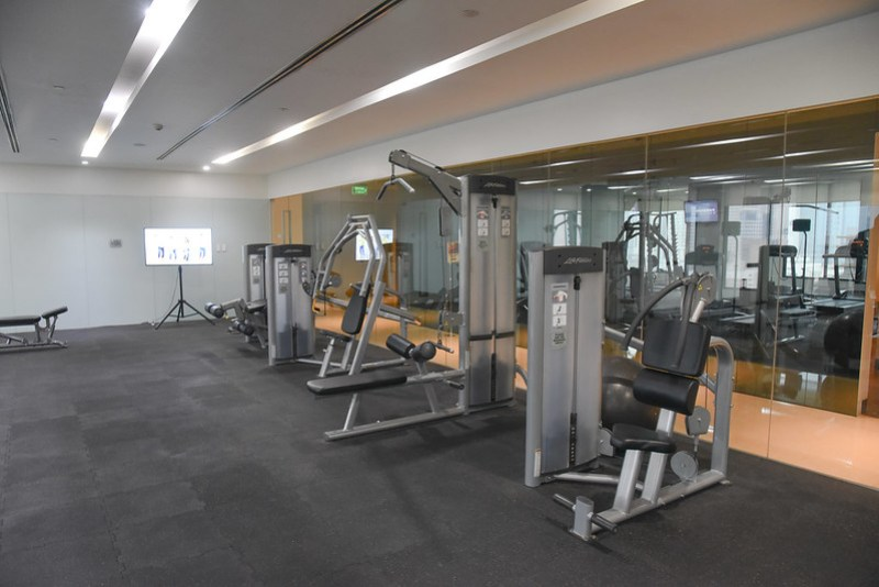 fitness centre at city garden grand hotel