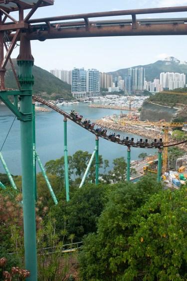 Hong Kong Ocean Park Roller Coaster