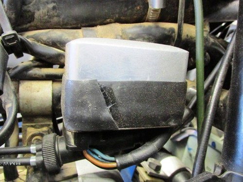 Voltage Regulator with Tape I Applied After Opening the Can