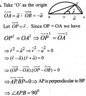 Plus Two Maths Chapter Wise Questions and Answers Chapter 10 Vector Algebra 11