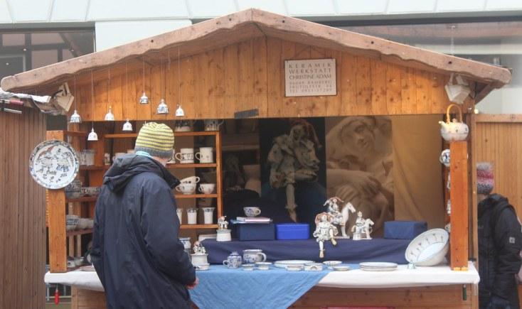 Christmas stall in Bamberg