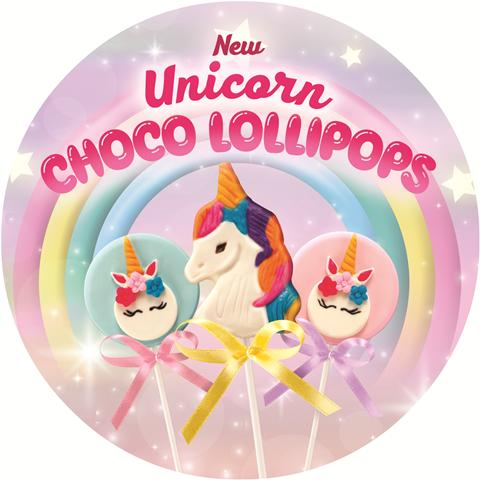 Goldilocks Unicorn Choco Lolli