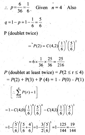 Plus Two Maths Chapter Wise Questions and Answers Chapter 13 Probability 21