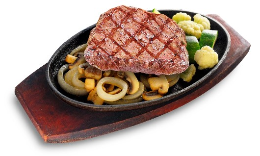 Burgoo - Country Steak with Onion and Mushroom
