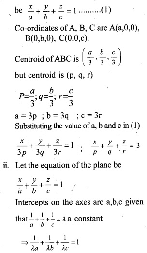 Plus Two Maths Chapter Wise Questions and Answers Chapter 11 Three Dimensional Geometry 17
