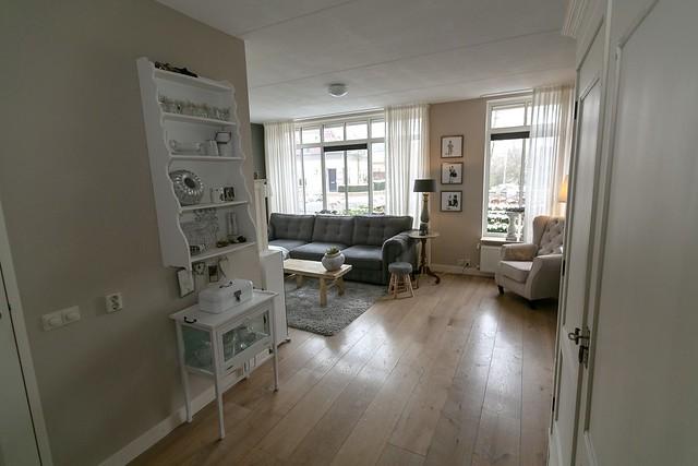 Landelijk brocante woonkamer
