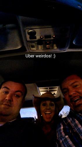 Josh Overmyer as Uber driver