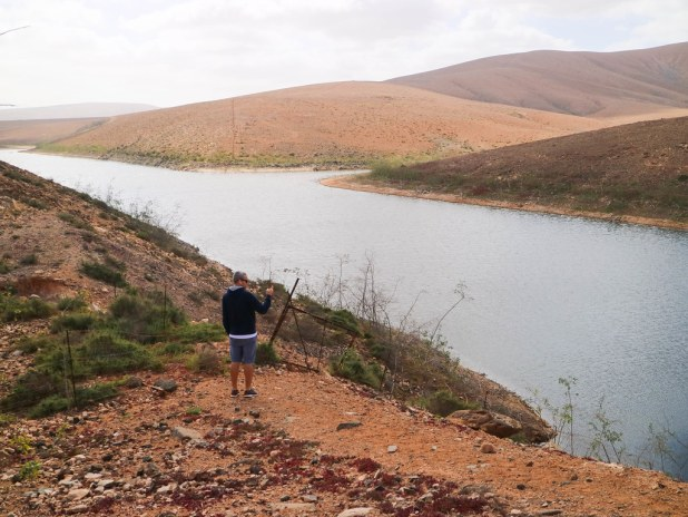 Presa de Los Molinos en Fuerteventura