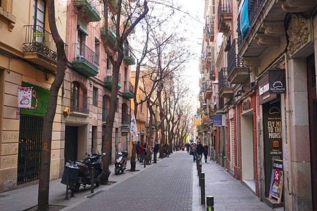 Street in Barri de Gràcia