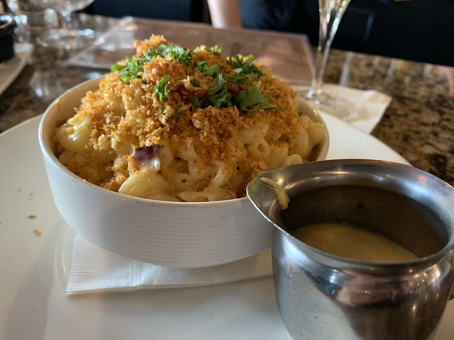 mac & cheese, fancy like