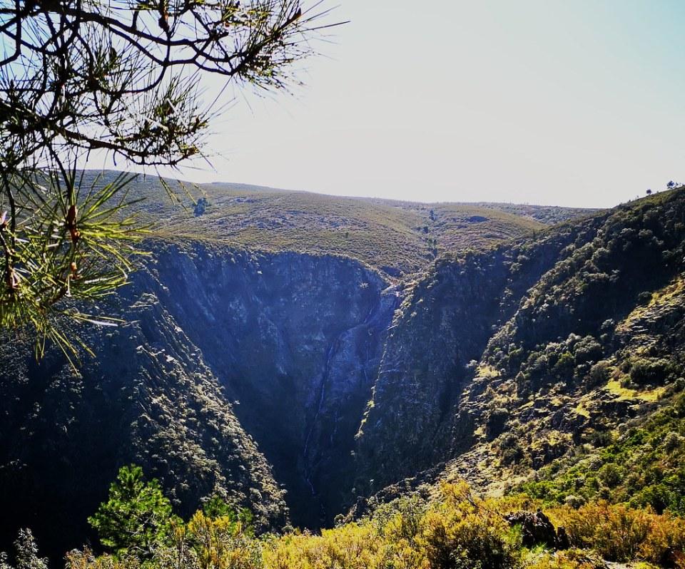 Ovejuela sendero cascada de Los Angeles Las Hurdes Cáceres 05