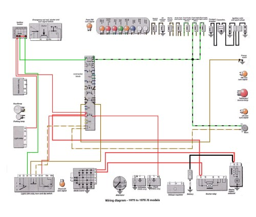Horn Wiring Diagram Of 76