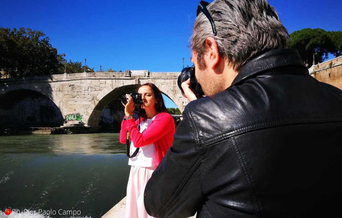 Sessão de fotos em Roma