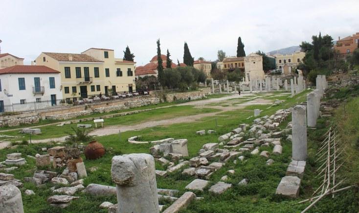 Roman Agora, Atena
