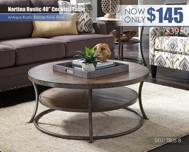 Nartina Rustic Cocktail Table_T805-8