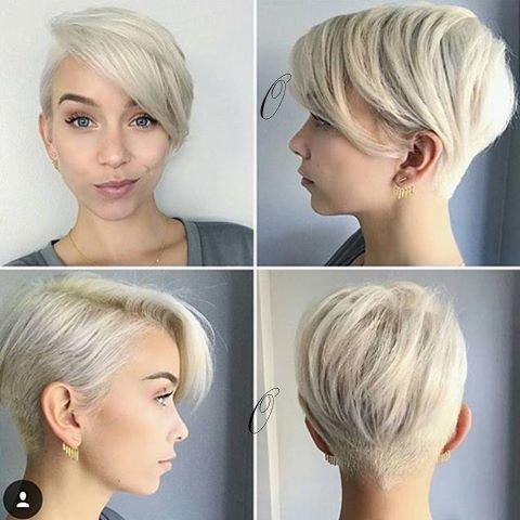 Modern Pixie Haircut 2019