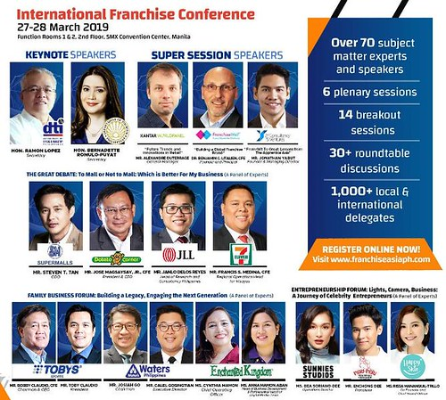 Franchise Asia Philippines 2019 - International Franchise Conference