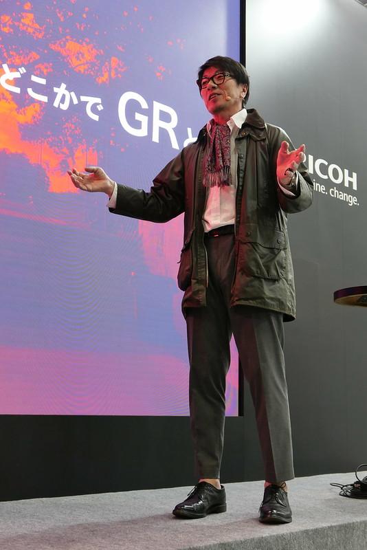 Mr. Yukio Uchida RICOH Imaging GR 3 16