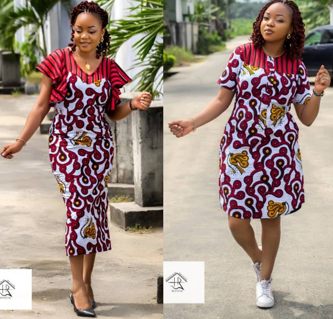 2019 ANKARA PRINT BLOUSES FOR POWERFUL LADY 2