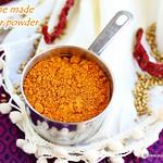 Sambar Podi recipe