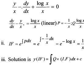 Plus Two Maths Chapter Wise Questions and Answers Chapter 9 Differential Equations 17