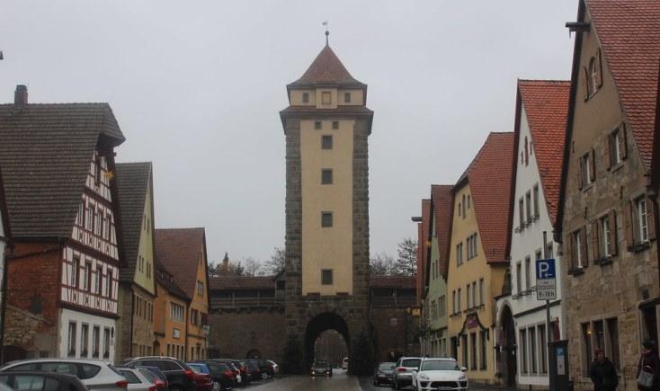Free parking in Rothenburg ob der Tauber