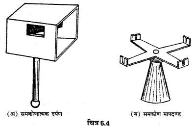 UP Board Solutions for Class 12 Geography Practical Work Chapter 5 Surveying Q.1.4