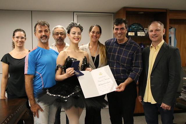 28.02.2019 Visita do Corpo de Ballet da Funcart