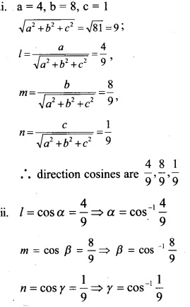 Plus Two Maths Chapter Wise Questions and Answers Chapter 11 Three Dimensional Geometry 19