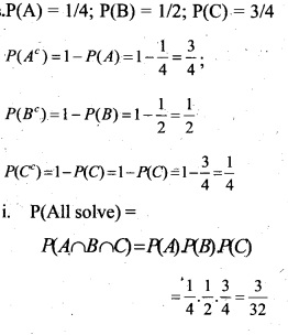 Plus Two Maths Chapter Wise Questions and Answers Chapter 13 Probability 30