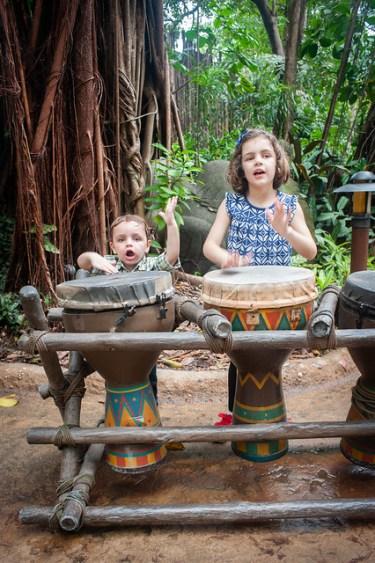 Hong Kong Disneyland Drums