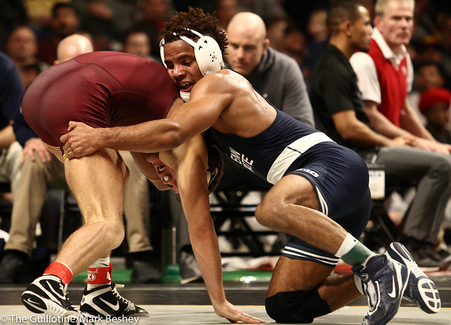 Semifinal - Mark Hall (Penn State) 25-0 won by decision over Devin Skatzka (Minnesota) 24-8 (Dec 4-2) - 190309bmk0155