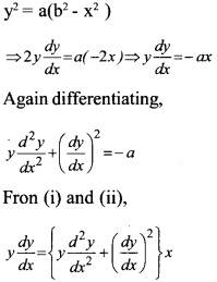 Plus Two Maths Chapter Wise Questions and Answers Chapter 9 Differential Equations 24