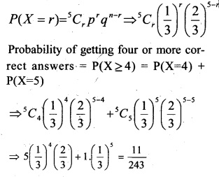 Plus Two Maths Chapter Wise Questions and Answers Chapter 13 Probability 55