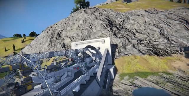 Svemirski inženjeri - stroj za bušenje tunela