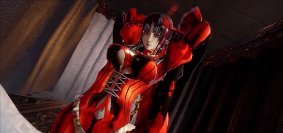 Bloodstained - Red Corset