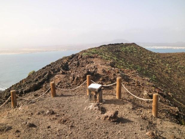 Volcán en isla de Lobos