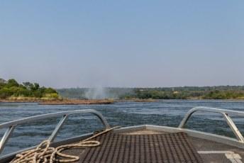 Terwijl de Argentijnen vertrokken naar Botswana, verraste ik Lucía met een laatste trip naar de watervallen.