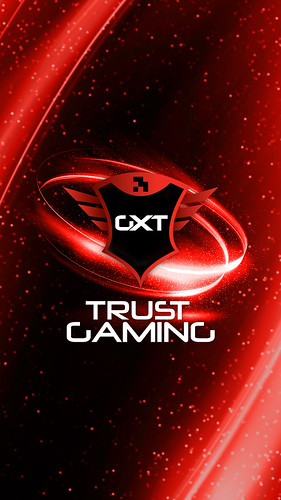 Trust Gaming Smartphone Wallpaper - Logo Spin