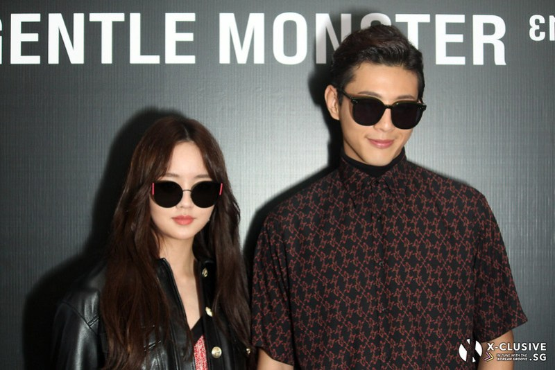 Gentle Monster 13 Launch - Kim So Hyun and Ji Soo
