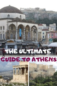 THE ULTIMATE GUIDE TO ATHENS