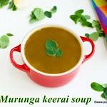 Murungakeerai Soup recipe