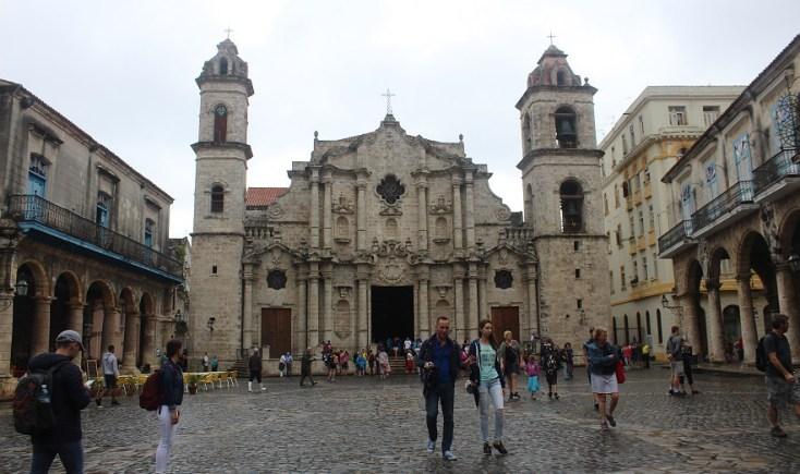 Havana cathedral